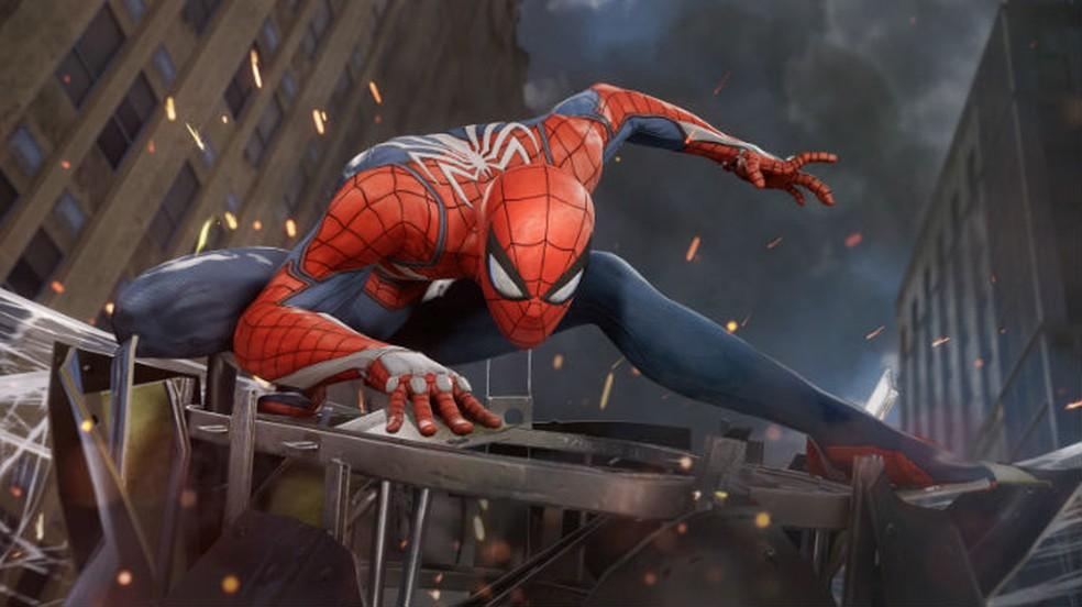 Spider-Man é lindo no PS4 Pro, mas o console não tem 4K nativo — Foto: Divulgação/Sony