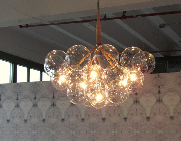 Bubble Chandelier, design Jean e Oliver Pelle