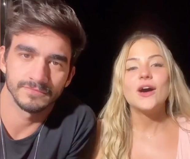 Gabi Martins e Guilherme Napolitano (Foto: Reprodução/Instagram)