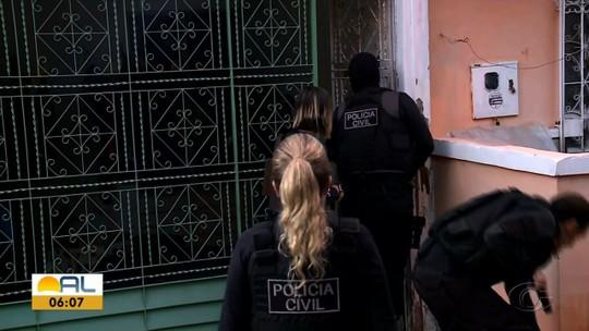 Operação prende em Alagoas suspeitos de vários crimes