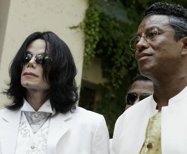 Michael Jackson e o irmão, Jermaine Jackson (Foto: Getty Images)