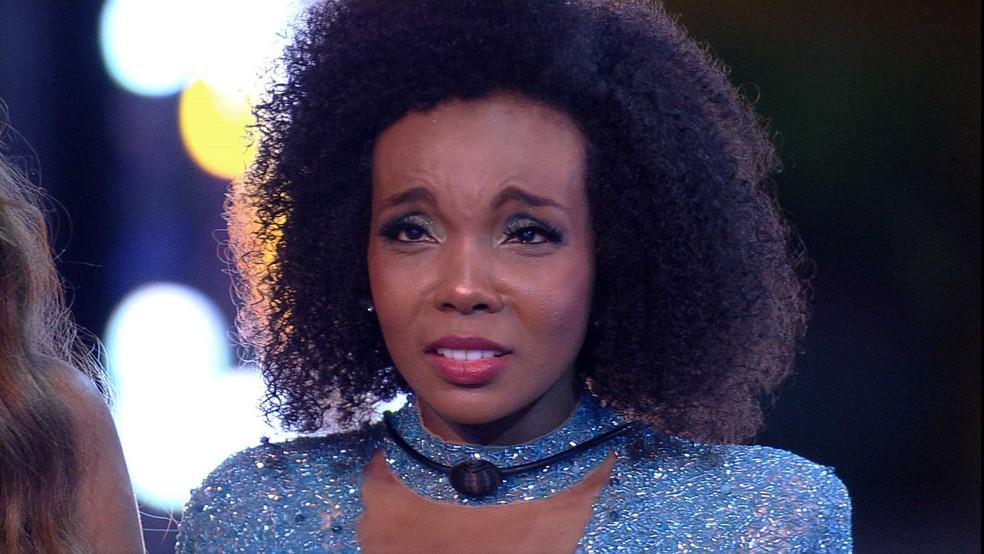 Thelma é a campeã do BBB20, com 44,1% dos votos — Foto: Globo