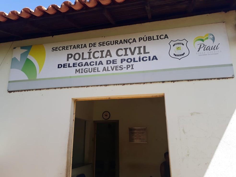 Caso é investigado pela Delegacia de Miguel Alves, no Piauí. — Foto: Divulgação/PC