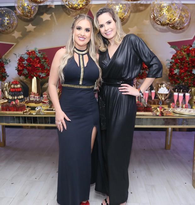 Patrícia Leitte e Ana Paula Renault (Foto: Anderson Borde/AgNews)