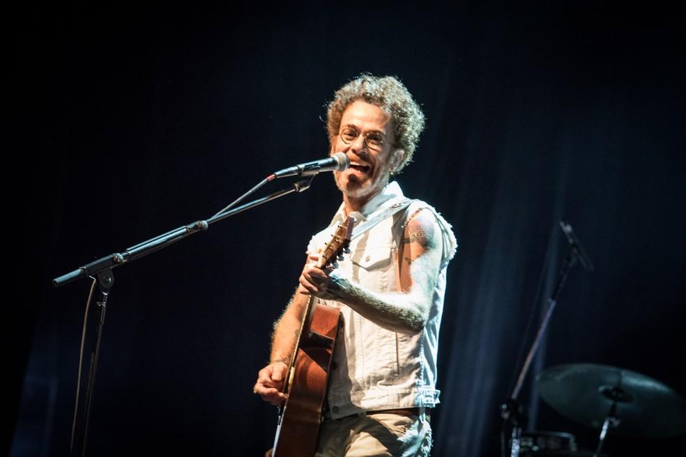 Nando Reis é uma das atrações desta sexta (29) (Foto: Fábio Tito/G1)