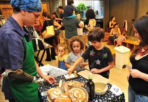 Paes artesanais entre os expositores do Colher de Pau Festival (Foto: Divulgação / Luven Fotografia)