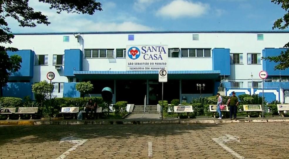 Consultas e cirurgias eletivas são paralisadas em São Sebastião do Paraíso (MG) — Foto: Reprodução EPTV
