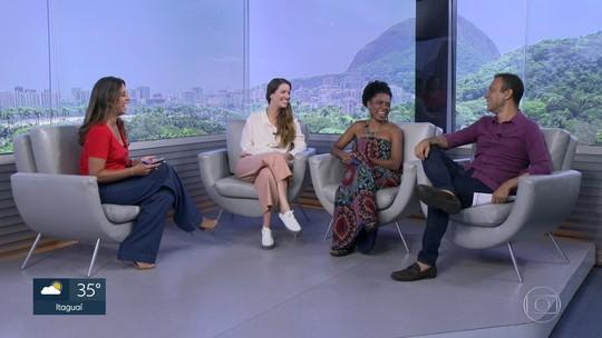 Nathalia Dill e Vilma Melo falam sobre a peça 'Fulaninha e Dona Coisa'