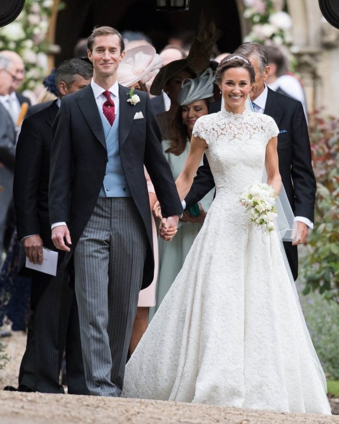 Fotos de vestidos de noiva: Pippa Middleton (Foto: Getty Images)