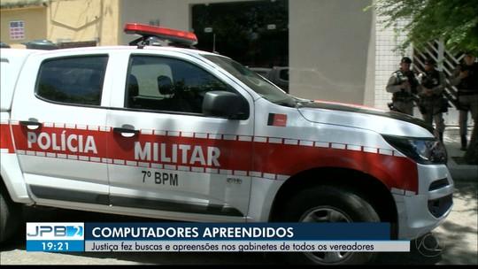 JPB2JP: Justiça fez buscas e apreensões nos gabinetes dos vereadores de Santa Rita