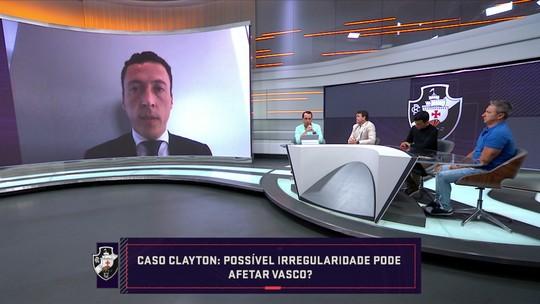 Advogado diz que situação de Clayton gera debate, mas afirma que Vasco tem bons argumentos