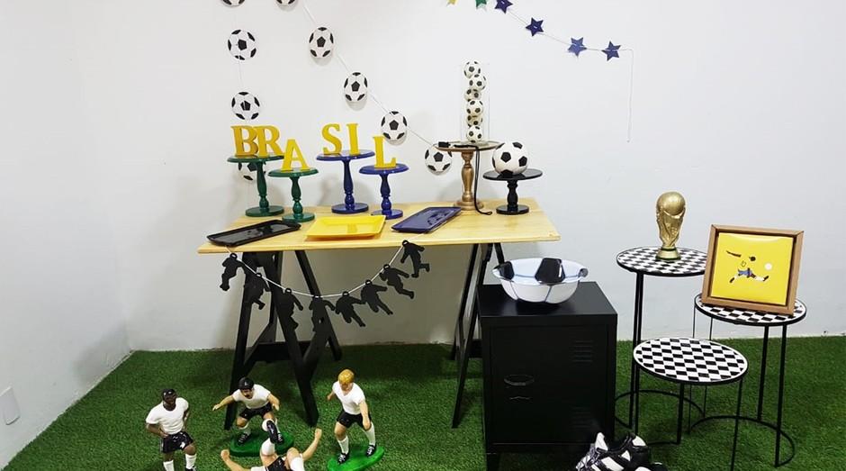 Decoração da Copa  (Foto: Divulgação )
