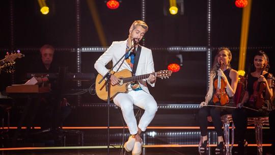 Elenco relembra apresentações e Danilo Vieira conta: 'Primeira vez que consegui cantar tranquilo'