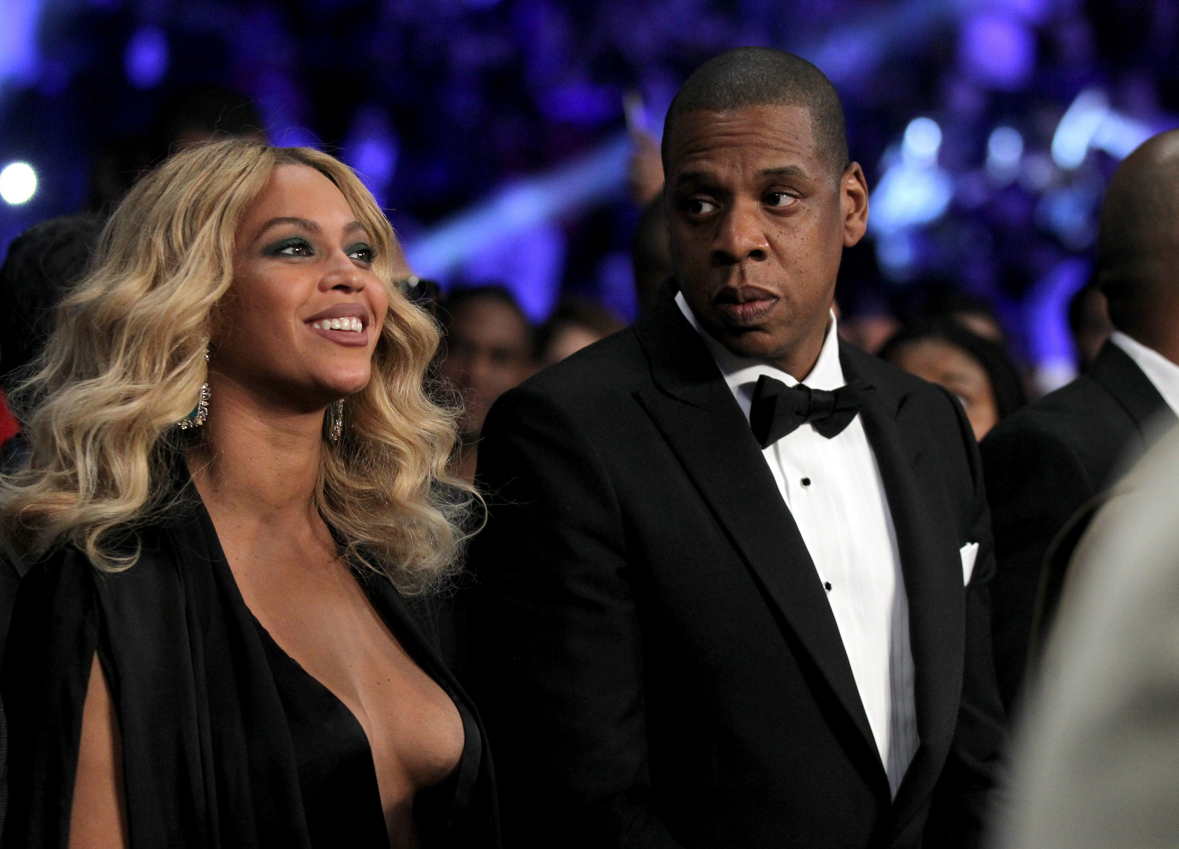 A cantora Beyoncé e o rapper Jay-Z (Foto: Getty Images)