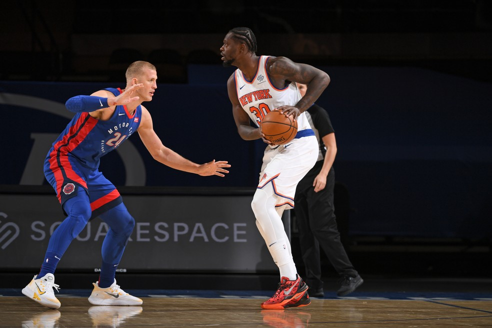 Julius Randle Knicks — Foto: Garrett Ellwood/NBAE via Getty Images