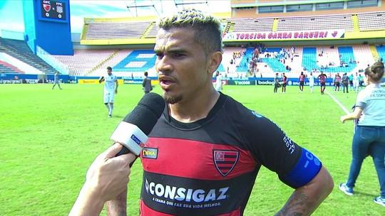 """Oeste completa o terceiro jogo sem marcar e Betinho comenta: """"A gente vem trabalhando bem"""""""
