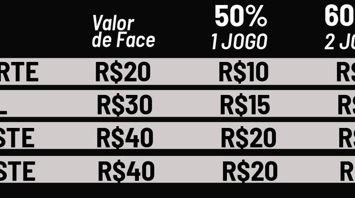 26d46ee2de Corinthians confirma amistoso contra o Grêmio em Itaquera  veja preços dos  ingressos
