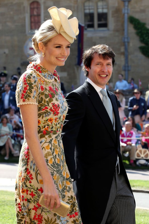Sofia Wellesley e o cantor James Blunt (Foto: Getty Images)