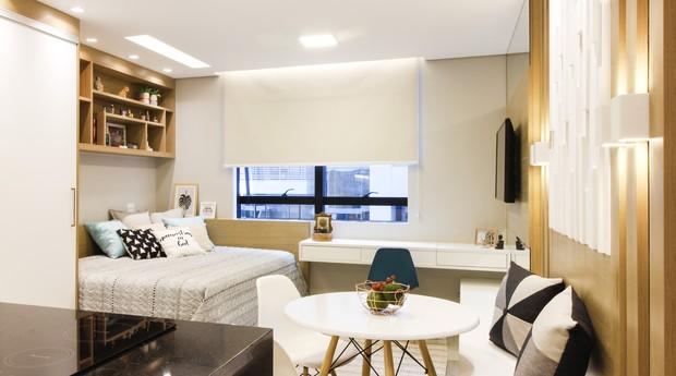 Apartamento planejado pela paulistana Giovanna Gogosz  (Foto: Divulgação)