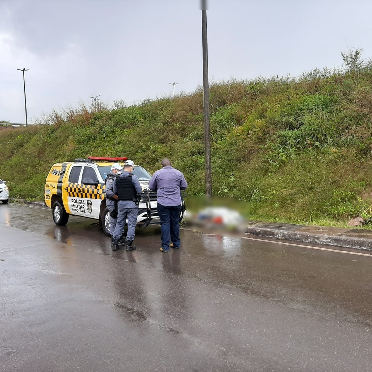 Motociclista morre após colidir contra poste na MA-203 em São José de Ribamar