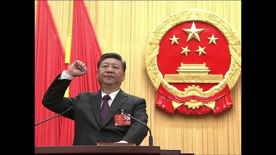 Parlamento da China reelege Xi Jinping como presidente