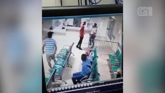 Homem armado tenta invadir hospital, mas é contido por segurança em Janaúba