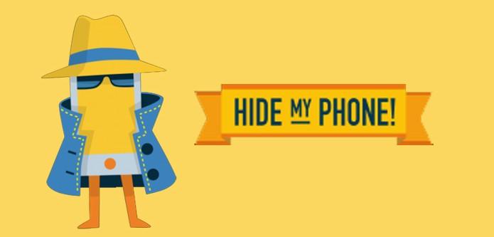 Veja como esconder o número de telefone com o Hide my Phone! (Foto: Arte/TechTudo)