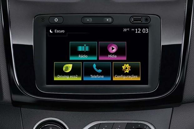 Nova sistema multimídia da Renault (Foto: Divulgação)