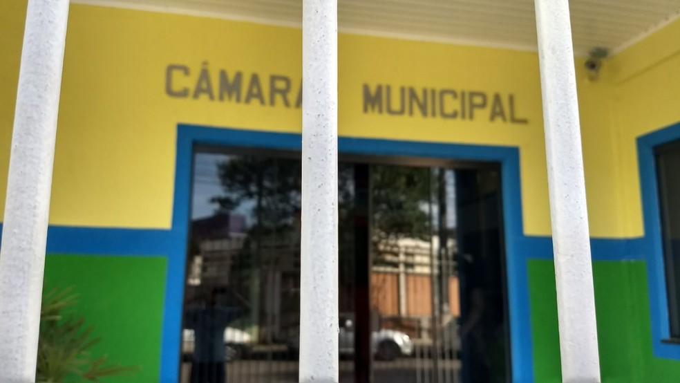 Gaeco faz operação e mira vereadores de Rio Branco do Sul (Foto: Bruno Fávaro/RPC)