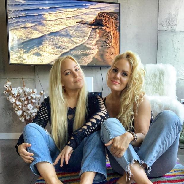 As irmãs Beckerman (Foto: Reprodução)