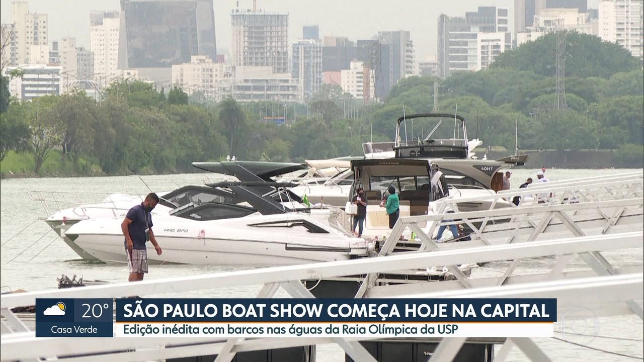 Começa nesta quinta-feira (11) a São Paulo Boat Show
