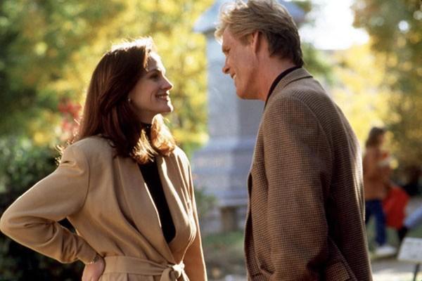 Nick Nolte e Julia Roberts em Adoro Problemas (1994) (Foto: Divulgação)