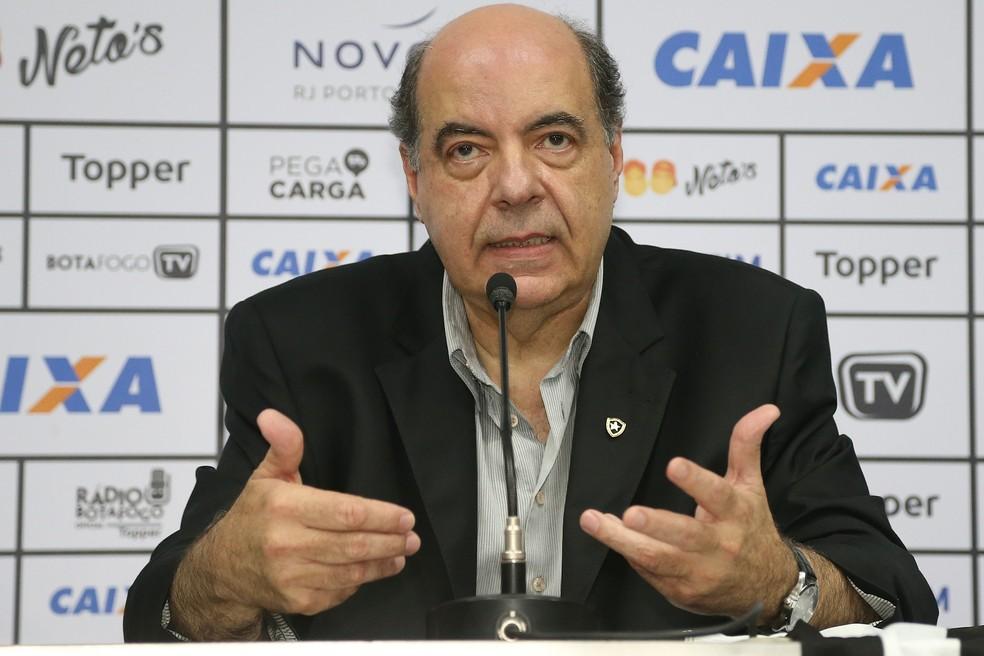 Crise no Botafogo impossibilita cumprir metas para 2021