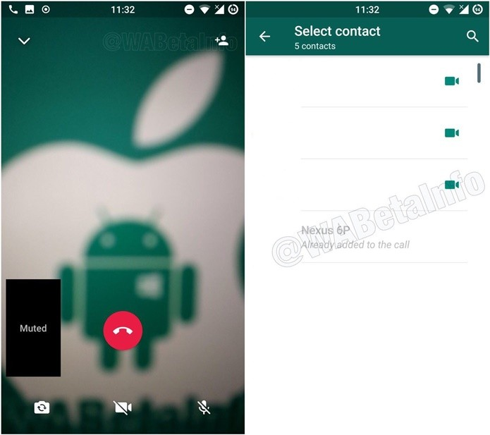 WhatsApp pode ganhar videoconferência no Android (Foto: Divulgação / WaBetaInfo)