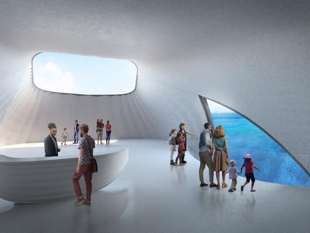 Maior observatório marinho do mundo será inaugurado na Austrália (Foto: Baca Architects)