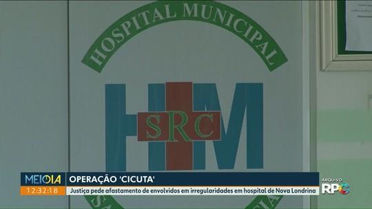 Justiça determina o afastamento de quatro funcionários do hospital municipal de Nova Londrina