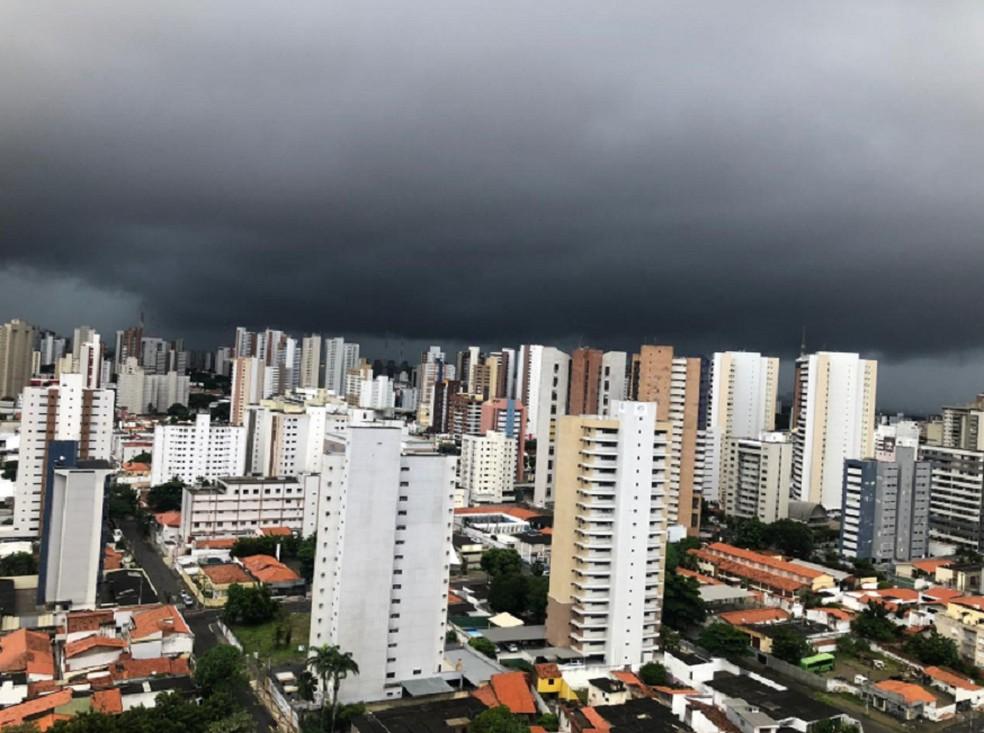 Chuvas no Ceará — Foto: Reprodução/TV Verdes Mares