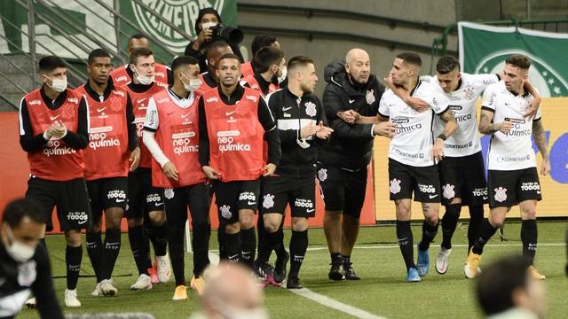 Gol de Gabriel em Palmeiras x Corinthians
