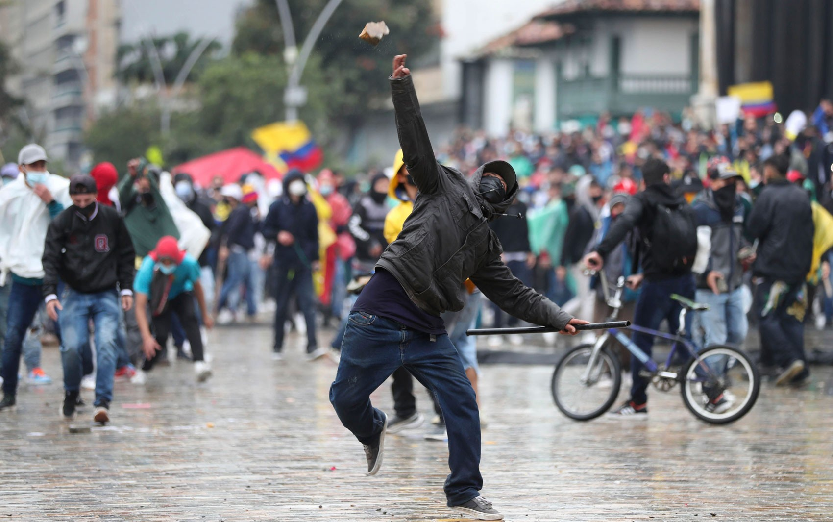 Aumenta a pressão contra Duque na Colômbia após uma semana de protestos