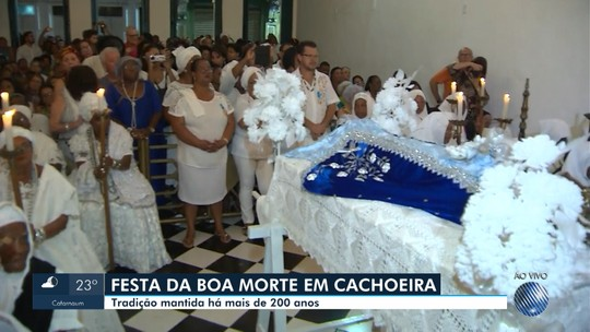 Festa da Boa Morte é iniciada com missa e procissão em Cachoeira