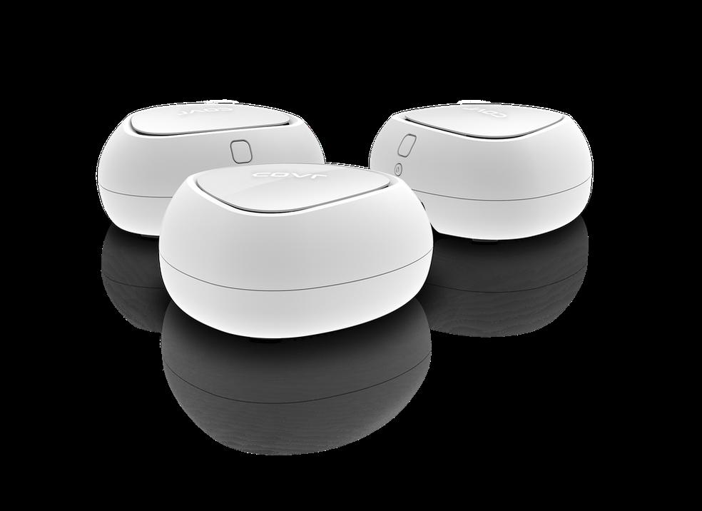 Covr tem tecnologia e sistema mesh para garantir cobertura de Wi-Fi na casa toda (Foto: Divulgação/D-Link)