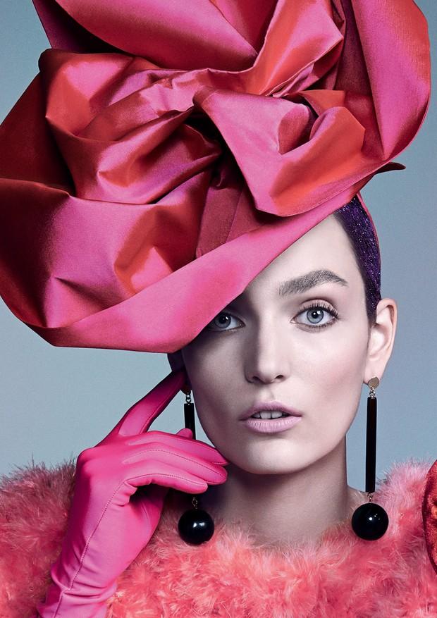O nome da rosa (Foto: Zee Nunes / Arquivo Vogue e Divulgação)