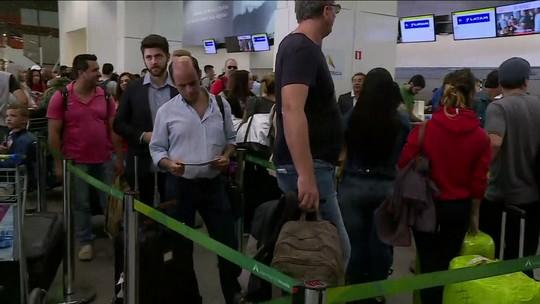Aeroportos de Brasília e Recife ficam sem combustível