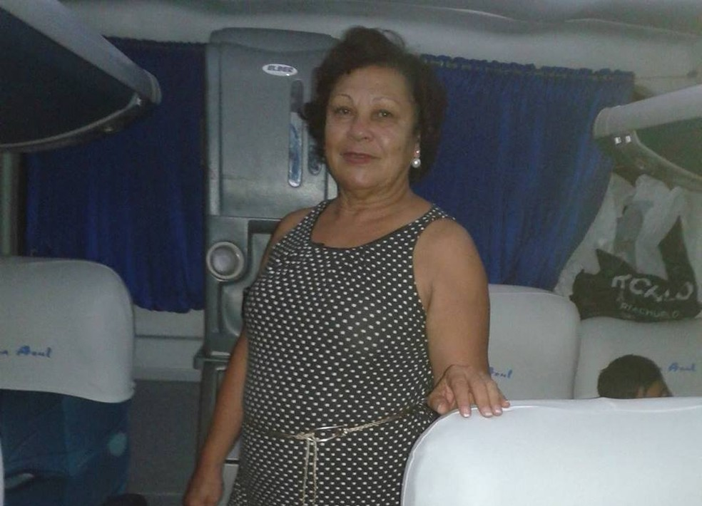 Maria de Lourdes morreu em acidente na BR-101, em Viana. (Foto: Reprodução/ Facebook)