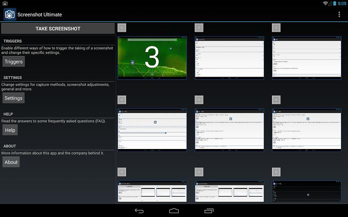 Apps para fazerem screenshots são bem interessantes (Foto: Divulgação)