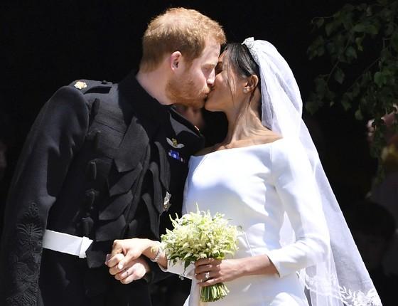 Casamento real (Foto: Ben Stansall/ AP)
