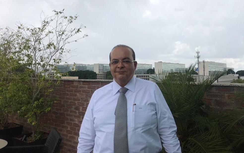 O governador eleito do DF, Ibaneis Rocha  — Foto: Letícia Carvalho/G1
