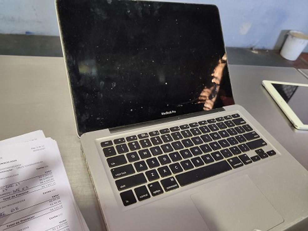 Leilão da Receita vende MacBooks por preço baixo — Foto: Reprodução/Receita Federal