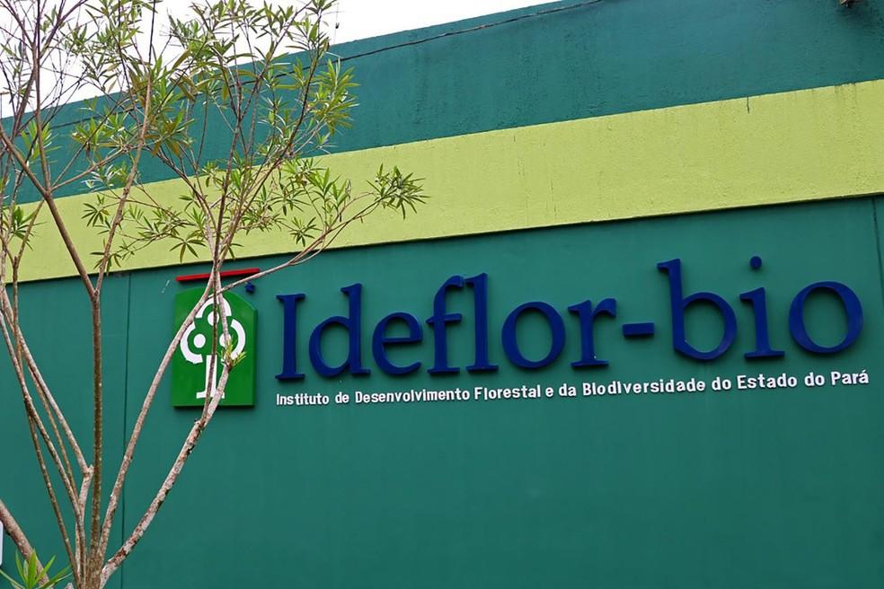 Ideflor-Bio - Pará — Foto: Ascom/Ideflor-Bio