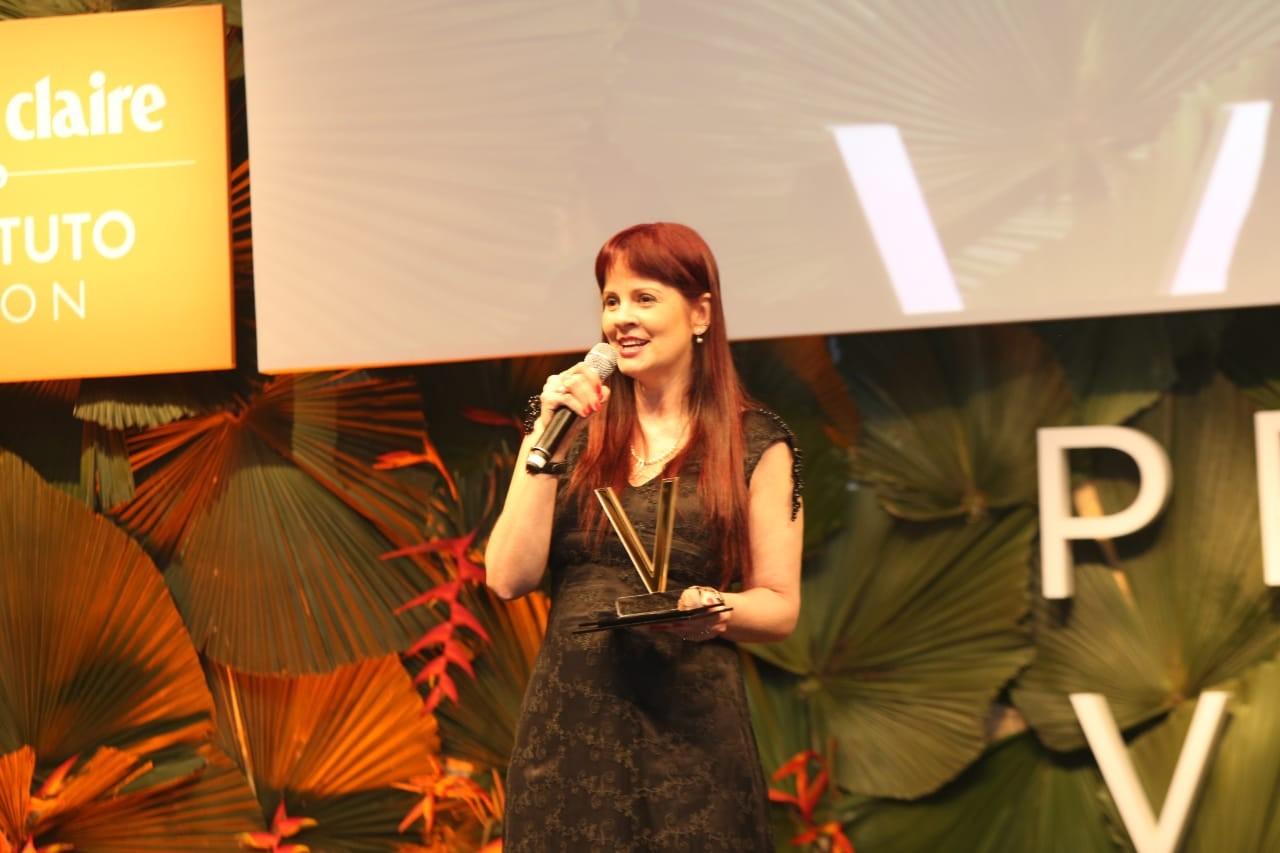 Melania Amorim  (Foto: Prêmio Viva )